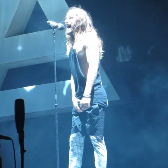Jared Leto Grabs His Bulge on Stage | Video