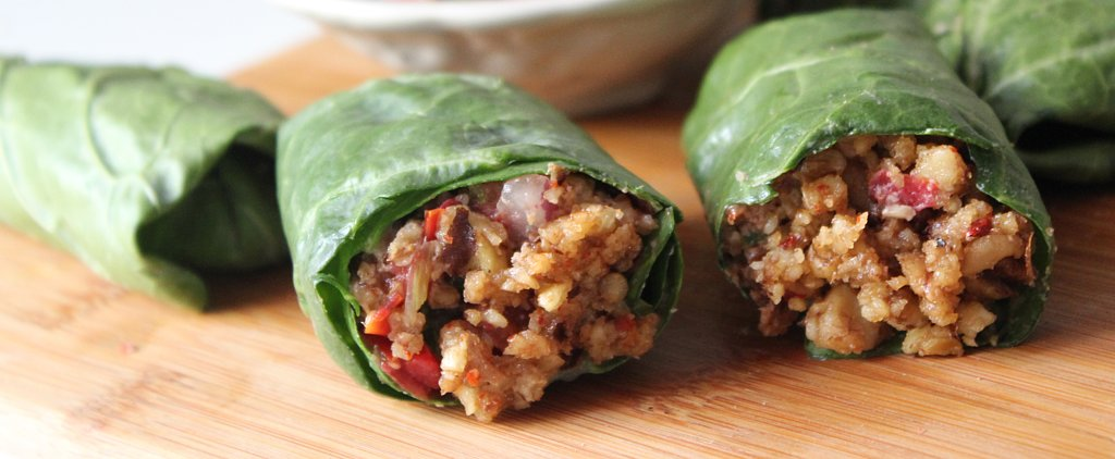 Revamp Your Lunch With a Fast, Low-Calorie Wrap
