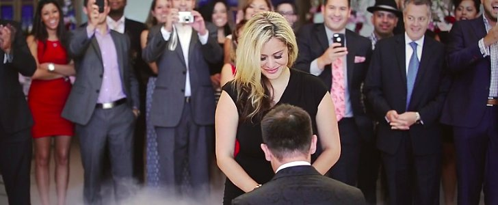 This Guy Faked an Entire Wedding to Stage His Proposal