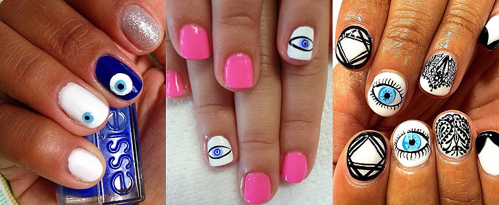 You'll Definitely Look Twice at This Evil Eye Nail Art
