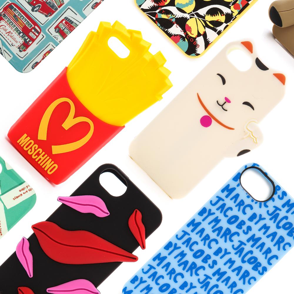 Designerkleider fürs Handy Kultige iPhone-Hüllen