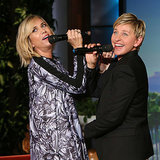 "Kristen Wiig Singing ""Let It Go"" on Ellen 
