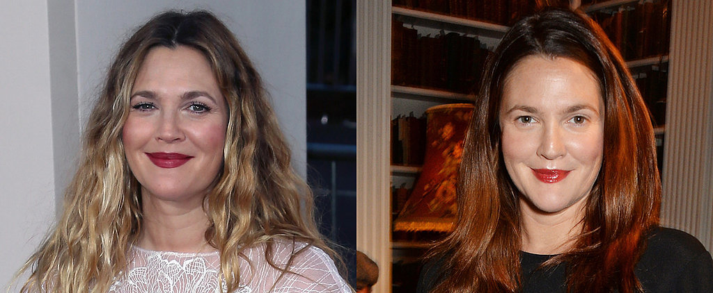 Drew Barrymore Just Made the Classic Fall Hair Color Change