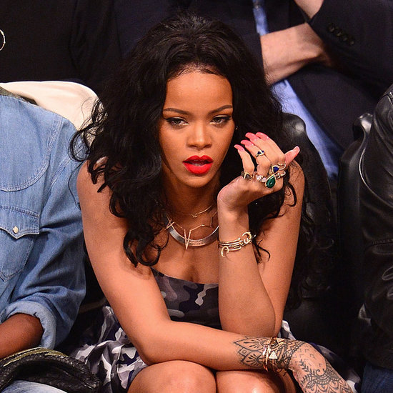 """Rihanna Lashes Out at CBS For """"Penalizing"""" Her Over the Ray Rice Scandal"""