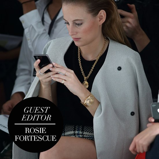 Rosie Fortescue's London Fashion Week Picks