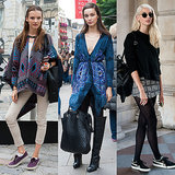 Model Off-Duty Street Style at Spring New York Fashion Week