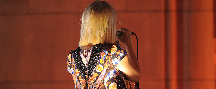 Wondering Why Sia Performs With Her Back to the Camera?