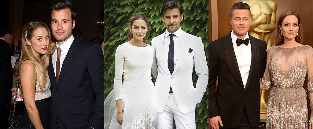 All the Celebrities That Came Down With Wedding Fever This Year