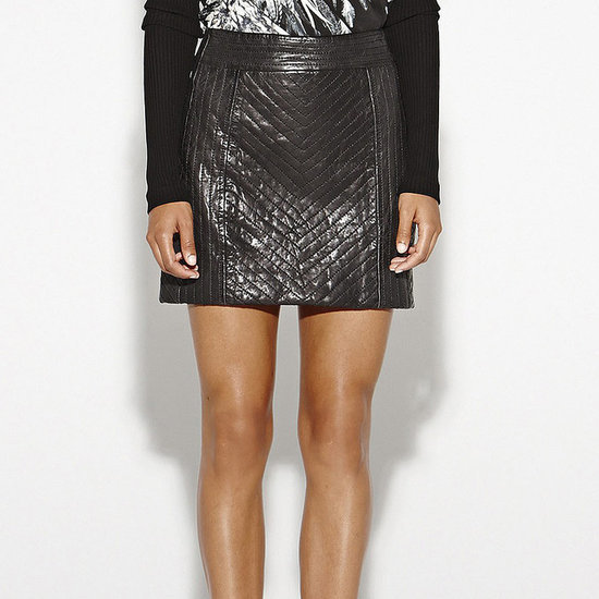 Shop Our Essential: The Quilted Leather Skirt