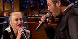 Gwen Stefani, Black Shelton Have Amazing Lip Sync Battle with Jimmy Fallon on the Tonight Show