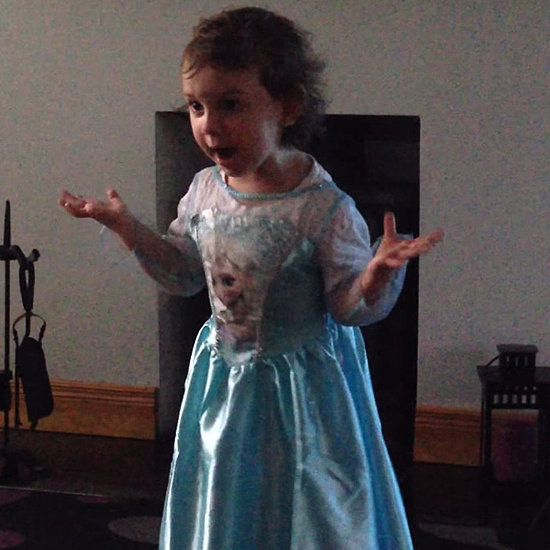 This Girl Is So, So Mad When Her Mom Laughs Through Her Frozen Performance