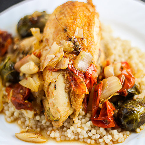 Braised Chicken and Caramelized Vegetables