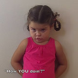Little Girl Reciting Lines From Friends | Video
