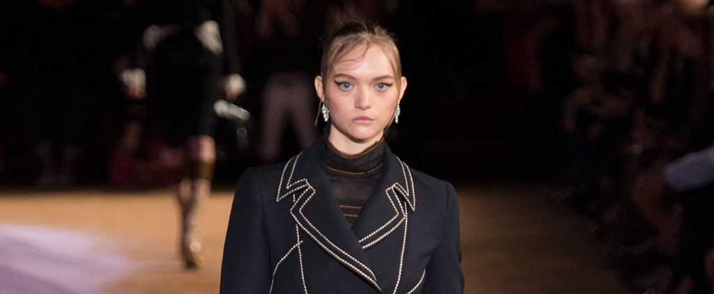 Prada's Purple Sand Had Nothing on Gemma Ward's Comeback