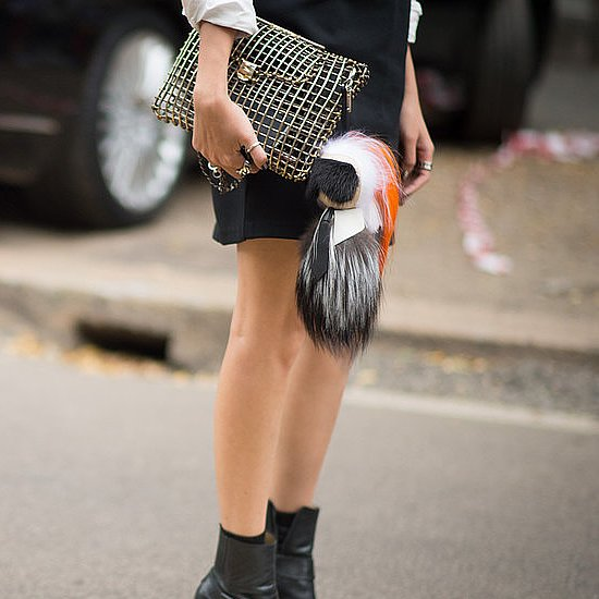 The MFW Accessories Aren't Complete Without a Fuzzy Touch of Fendi
