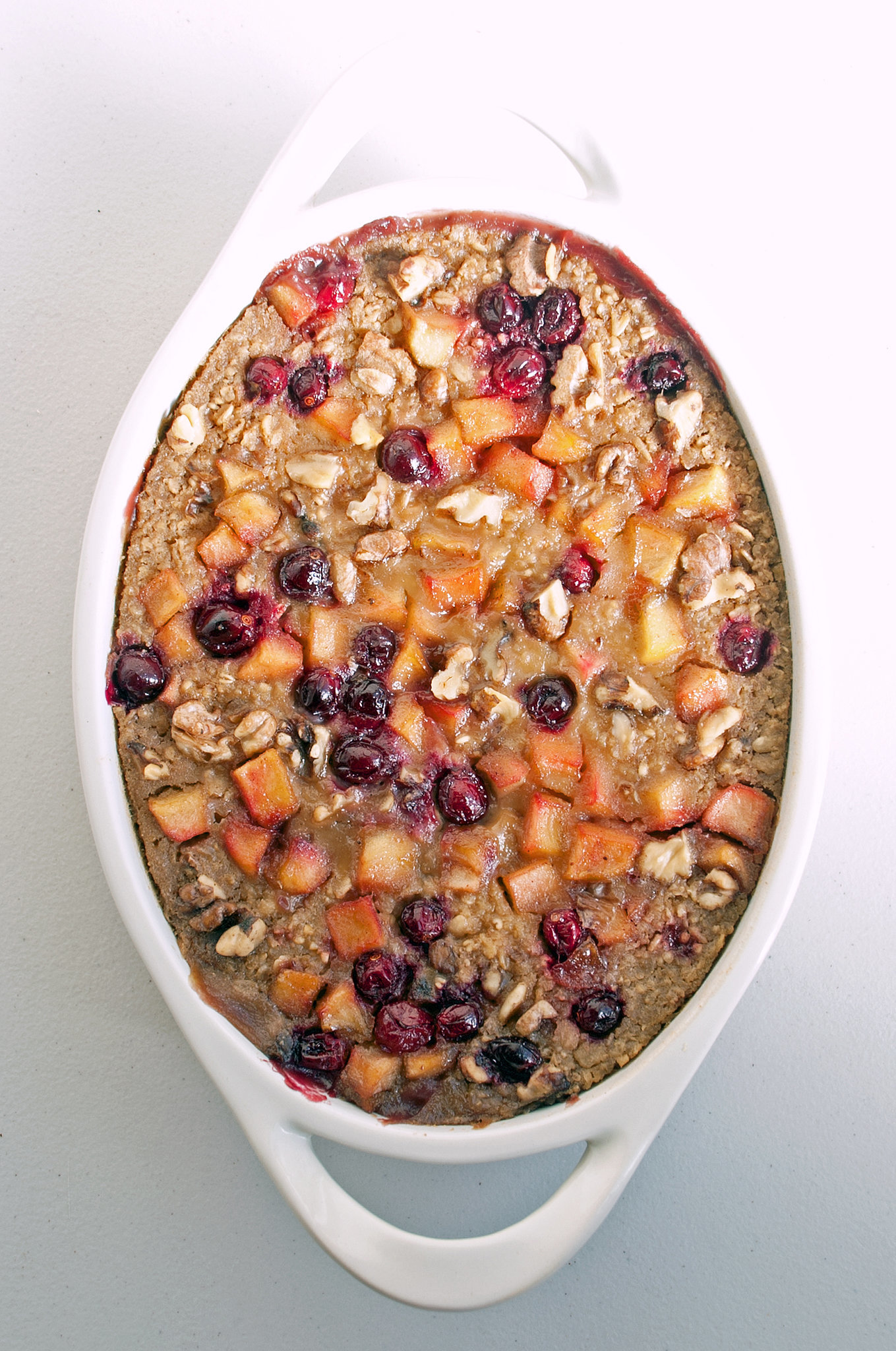 Vegan Apple Cranberry Oatmeal Bake Recipes — Dishmaps
