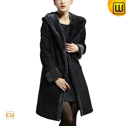 Shearling Winter Coat for Women CW640210