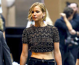 Jennifer Lawrence Supports Chris Martin at iHeartRadio Music Festival: Picture, Details
