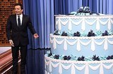 Seth Rogen And James Franco Surprised Jimmy Fallon For His Birthday