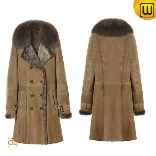 Vintage Shearling Pea Coat CW640230