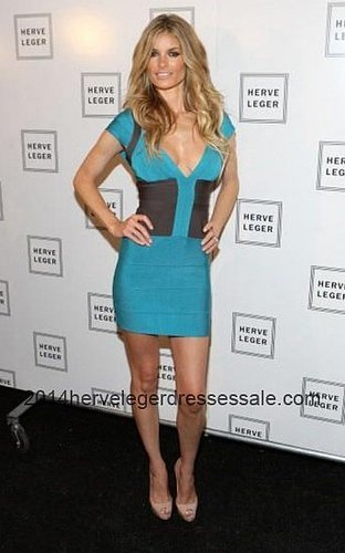 Discount Herve Leger Blue Deep V-Neck Bandage Dresses 2014 [Blue Herve Leger V-neck Dresses] - $158.00 : 2014 Herve Leger | Chea