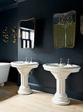 Black, White and Gold Add Up to Bathroom Design Heaven (10 photos)