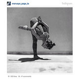 #YogaPostureOfTheDay Takes Over Instagram