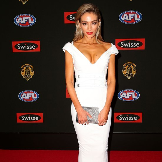 Live 2014 Brownlow Medal WAGs Red Carpet Dresses