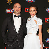 2014 Brownlow Medal AFL Stars and WAGs Red Carpet Pictures