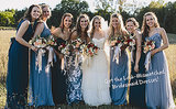 How to Pull Off Mismatched Bridesmaid Dress Colors Without Looking Like A Hot Mess