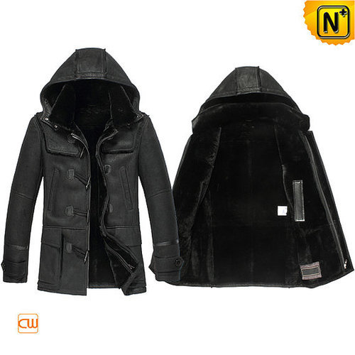 Shearling Jacket with Hood CW851315
