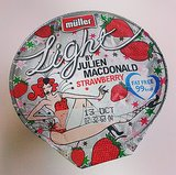 Anya Hindmarch Cereal and Julien Macdonald Yoghurt
