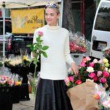 Jaime King Banana Republic Street Style