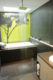Wake Up Your Bathroom Decor With a Gorgeous Statement Wall (9 photos)
