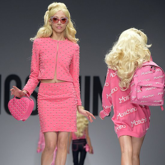 Spotted: Die F/S15-Barbie-Kollektion von Moschino
