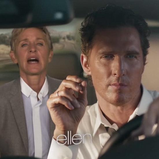 Ellen DeGeneres Greatly Improves Matthew McConaughey's Weird Car Ad
