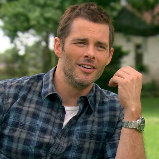 """James Marsden Hopes The Best of Me Will Have the Same """"Visceral"""" Chemistry as The Notebook"""