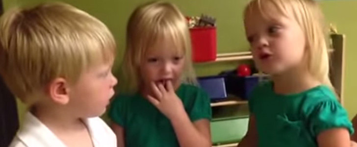 This Is How Three Cute Kids Settle an Argument About Raining vs. Sprinkling