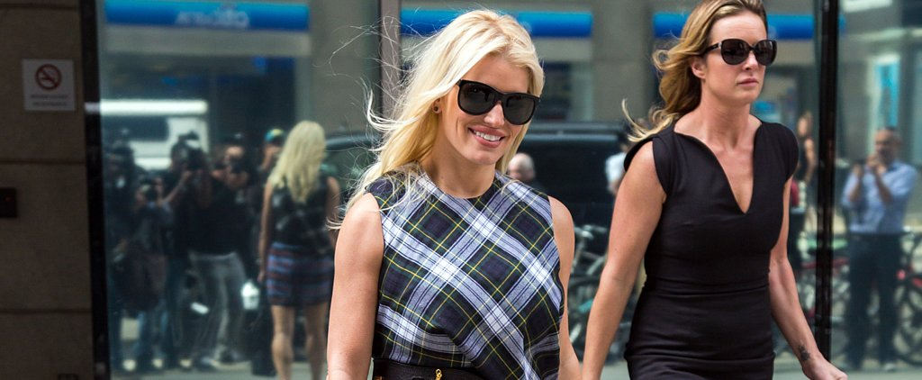 Jessica Simpson Just Took Plaid to Another Level —but Do You Approve?