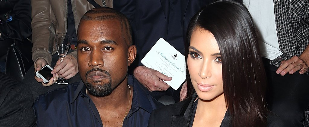 Kim Kardashian and Kanye West Show Off Matching Cleavage in Paris