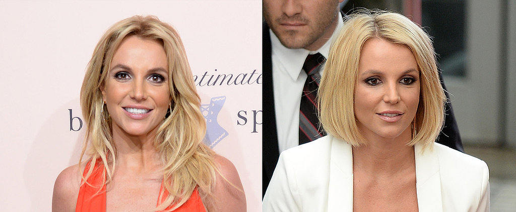 Britney Spears' Latest Hit Is Her New Blonde Bob