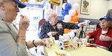 Madeleine Turpan Celebrates 102nd Birthday At White Castle On Long Island
