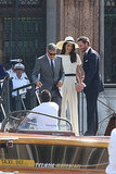 All of Amal Alamuddin's Wedding Weekend Outfit Changes