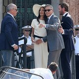 George Clooney and Amal Alamuddin After Wedding Pictures