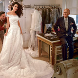 Pictures of Amal Alamuddin's Wedding Dress