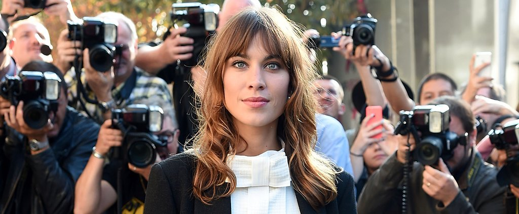 Alexa Chung's Lazy-Girl Beauty Game Is Perfectly on Point