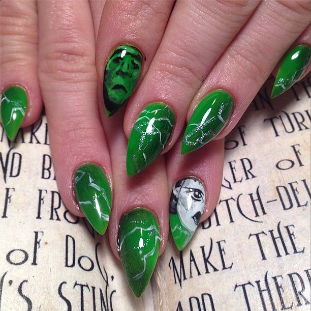 26 Halloween Nail Art Designs That Are Scary But So Good