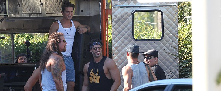 Magic Mike XXL Set Picture Update: Shirtless Joe, Sexy Channing, & More of the Guys!