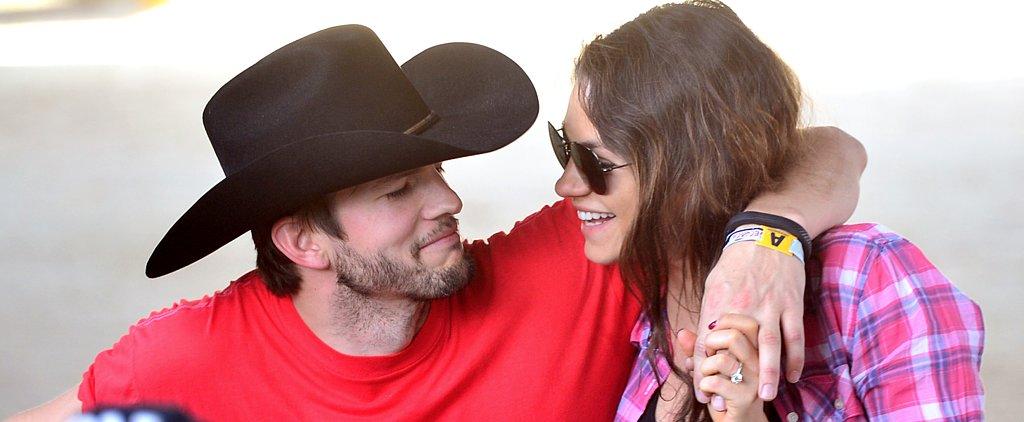 Mila Kunis and Ashton Kutcher Welcome a Baby Girl!