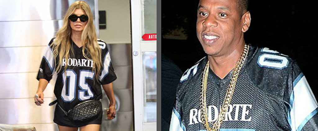 Did Jay Z Borrow This Jersey From Beyoncé's Closet?